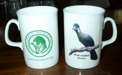 Two bone china mugs