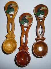 Spoons N - P (left to right)